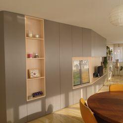 ESTUDIO 52 mae arquitectura Salones de estilo moderno