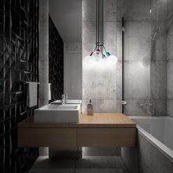 Wiktoria Ginter - interiorismo Ванная комната в стиле модерн