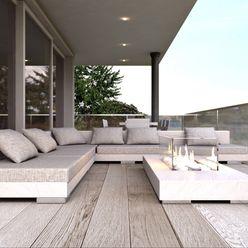ARTREADY Moderner Balkon, Veranda & Terrasse
