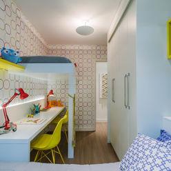 Apartamento Bela Vista STUDIO LN Quarto infantil moderno