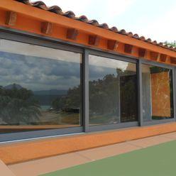 homify Classic windows & doors Aluminium/Zinc Grey