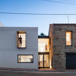 Casa JA FPA - filipe pina arquitectura Casas minimalistas