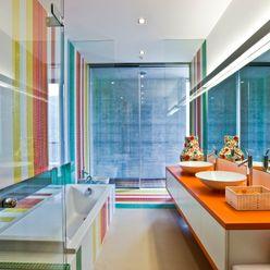 Kids Bathroom Viterbo Interior design Bagno eclettico