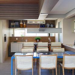 Apartamento DT Amanda Carvalho - arquitetura e interiores Cozinhas modernas