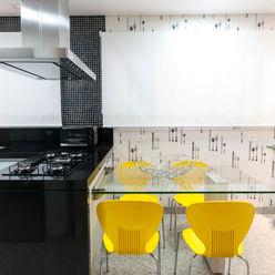 Residência Central Park - São Bernardo do Campo Haus Brasil Arquitetura e Interiores Cozinhas ecléticas