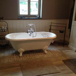 Realisaties Den Ouden Tegel Landelijke badkamers Tegels