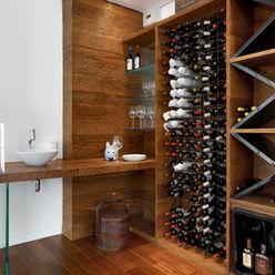 Casa Vila Alpina 02 Márcia Carvalhaes Arquitetura LTDA. Adegas modernas