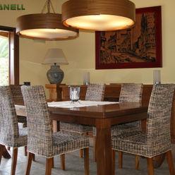 Comedor muebles madera iroko RIBA MASSANELL S.L. Comedores mediterráneos Madera