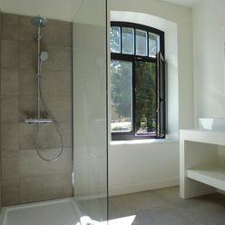 Project met Cor-bo De Plankerij BVBA Landelijke badkamers