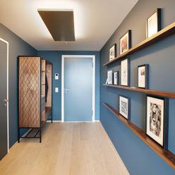 Penthouse, Zurich Studio Frey Couloir, entrée, escaliers modernes