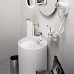 MOMON Lineabeta Bagno moderno Plastica Bianco