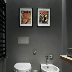 private apt in Milano StudioCR34 Bagno minimalista