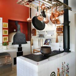 Casa Fazenda CC Silvia Cabrino Arquitetura e Interiores Cozinhas rústicas