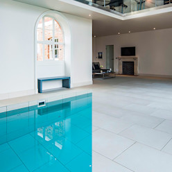 Swimming Pool to Entertainment Hall Aqua Platinum Projects Classic style pool