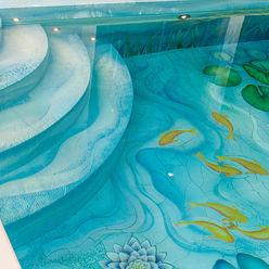 Swimming Pool Steps - Bespoke Aqua Platinum Projects Classic style pool