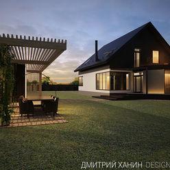 Dmitriy Khanin Casas de estilo minimalista Madera Marrón