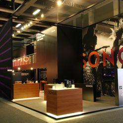Sonos @ IFA 2014 RAUMLOTSEN | Marken- und Innenarchitektur Modernes Messe Design