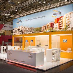 Aurelis @ Expo Real 2014 RAUMLOTSEN | Marken- und Innenarchitektur Modernes Messe Design