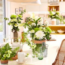 Chrysantheme 2016 moderne Tischdekoration Tollwasblumenmachen.de WohnzimmerAccessoires und Dekoration