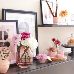 Verträumtes Interieur mit zarter Chrysantheme Tollwasblumenmachen.de WohnzimmerAccessoires und Dekoration