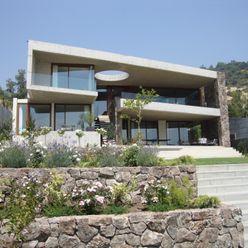 FACHADA Hernan Arriagada / Arq Casas estilo moderno: ideas, arquitectura e imágenes