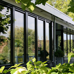 Landelijke eigentijdse woning Brand I BBA Architecten Landelijke huizen