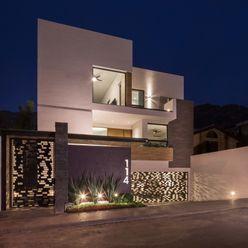 fachada principal URBN Casas minimalistas