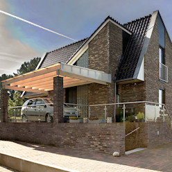 Woonhuis Sondel Sipma Architecten Landelijke huizen