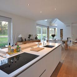 Eigentijdse woning Den-Haag Bongers Architecten Moderne keukens