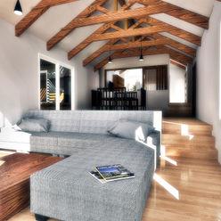 NidoSur Arquitectos - Valdivia Modern living room