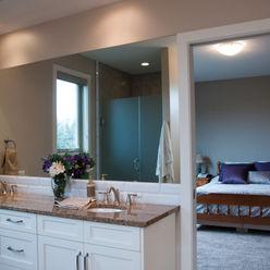 Drafting Your Design Landelijke badkamers Beige