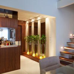Campo Belo - SP Infinity Spaces Corredores, halls e escadas modernos