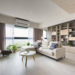 思維空間設計 Soggiorno minimalista