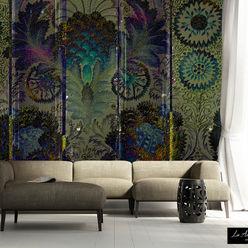 Oasis #160914 Wallpaper La Aurelia Muren & vloerenBehang Groen