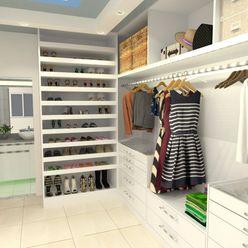 Atelie 3 Arquitetura Country style dressing room MDF Beige