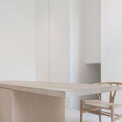 Office Jen Alkema architect Minimalistische studeerkamer
