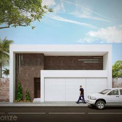 Taller Onze Casas estilo moderno: ideas, arquitectura e imágenes Blanco