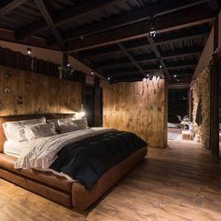 Alcoba principal OPUS Habitaciones de estilo rural