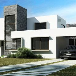 Casa Grilli homify Casas de estilo mediterráneo Ladrillos Blanco