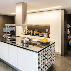 INAIN Interior Design Cocinas de estilo moderno