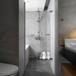 主臥浴室 御見設計企業有限公司 現代浴室設計點子、靈感&圖片