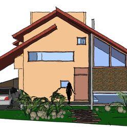 A+R arquitetura Müstakil ev Tuğla Bej