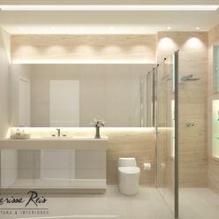 Larissa Reis Arquitetura Modern Bathroom