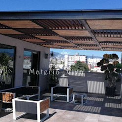 Materia Viva S.A. de C.V. Modern balcony, veranda & terrace