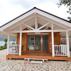 Çağlar Wood House Holzhaus Holz Holznachbildung