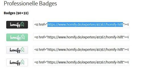 Was ist ein Badge? homify hilft