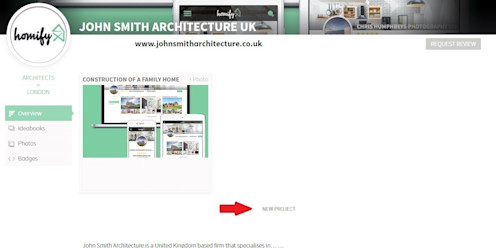 6. How do I create other projects? homify UK