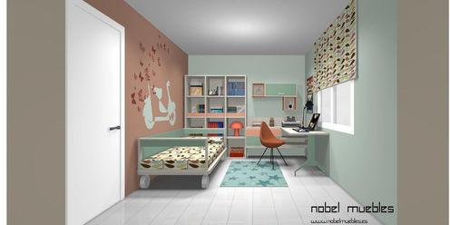 Nobel Vinte Dormitorios infantiles de estilo moderno