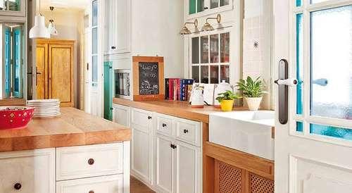 reforma integral de vivienda cocinas de estilo eclctico de simetrika