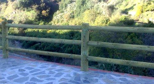 diferentes modelos de vallas de madera jardines de estilo mediterrneo de vallados y jardines